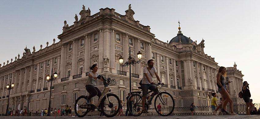 Madrid in bicicletta