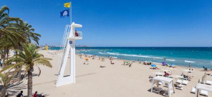 Playa del Postiguet, la spiaggia di Alicante