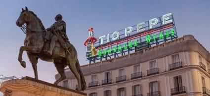 Tio Pepe a Puerta del Sol