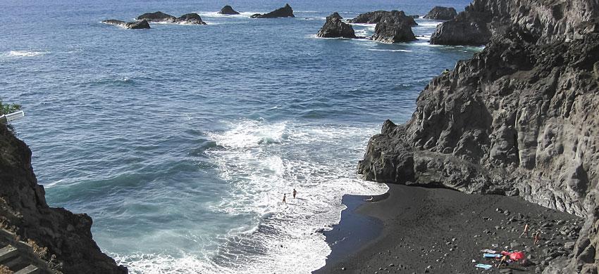 Spiagge e piscine naturali di la palma spagna - Isola di saona piscine naturali ...