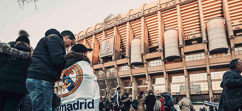 Stadio Santiago Bernabeu, la casa del Real Madrid